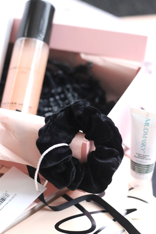Glossybox January 2020 scrunchie