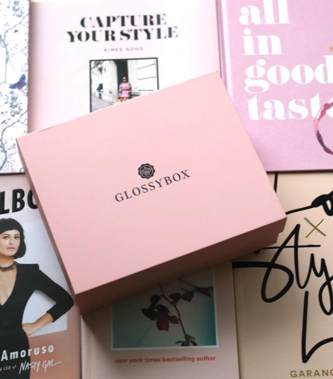 Glossybox January 2020 the box
