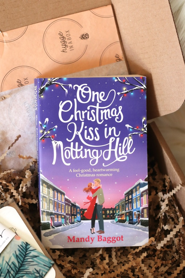 Hygge in a Box Holiday Box 2019 One Christmas Kiss in Notting Hill