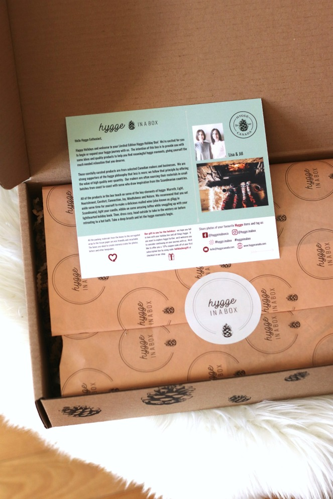 Hygge in a Box Holiday Box