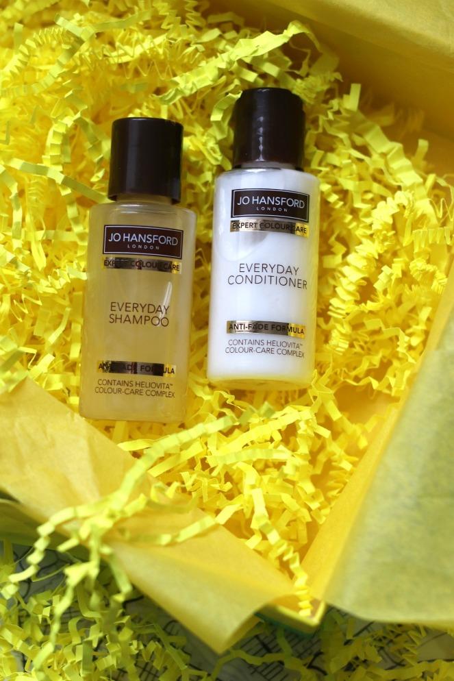Lookfantastic January 2020 Jo Hansford Shampoo and Conditioner