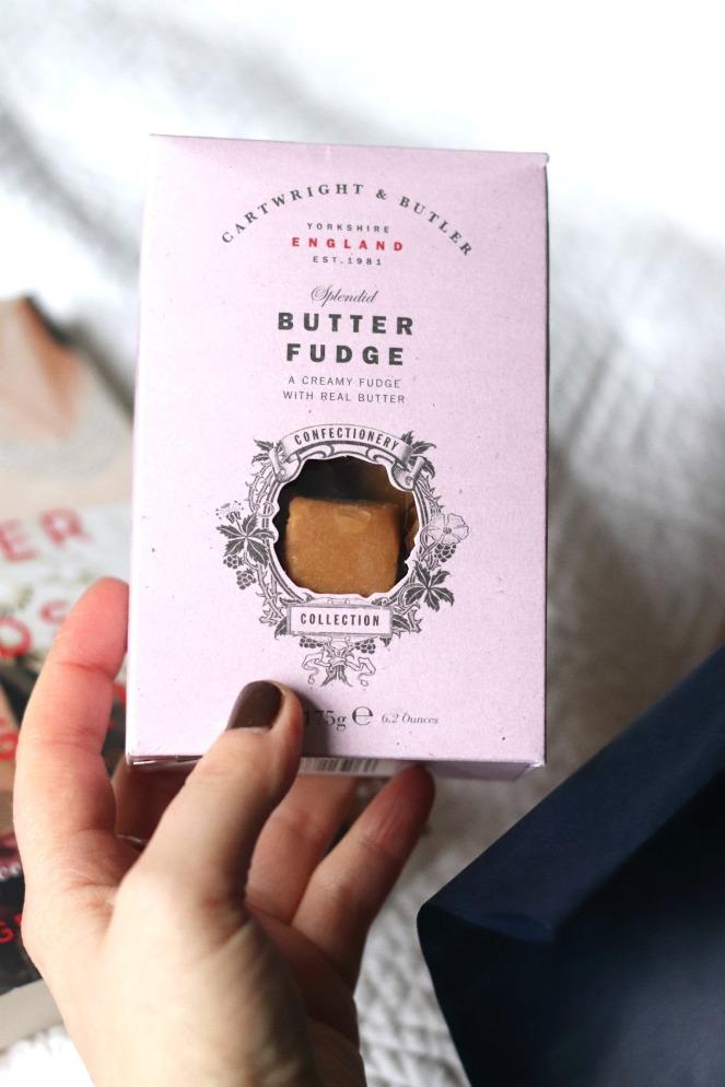 Sweet Reads Box January 2020 Butter Fudge