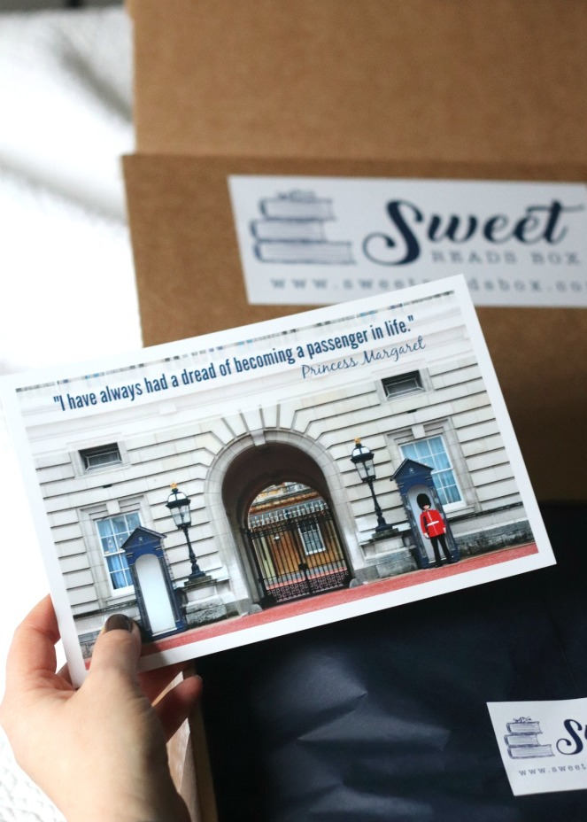 Sweet Reads Box January 2020 guide to contents