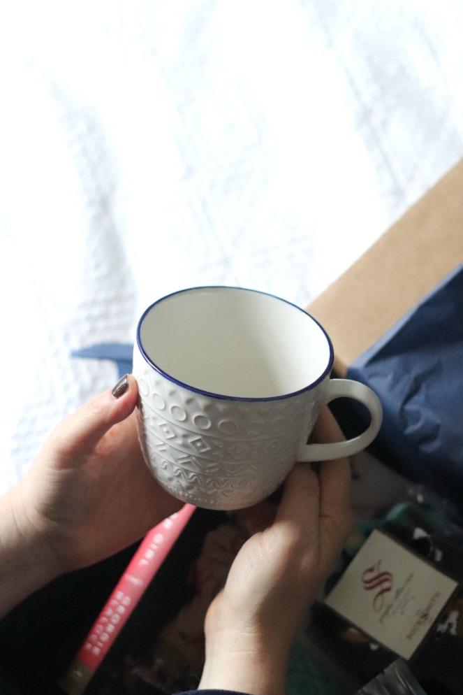 Sweet Reads Box January 2020 Now Designs Casablanca Mug final
