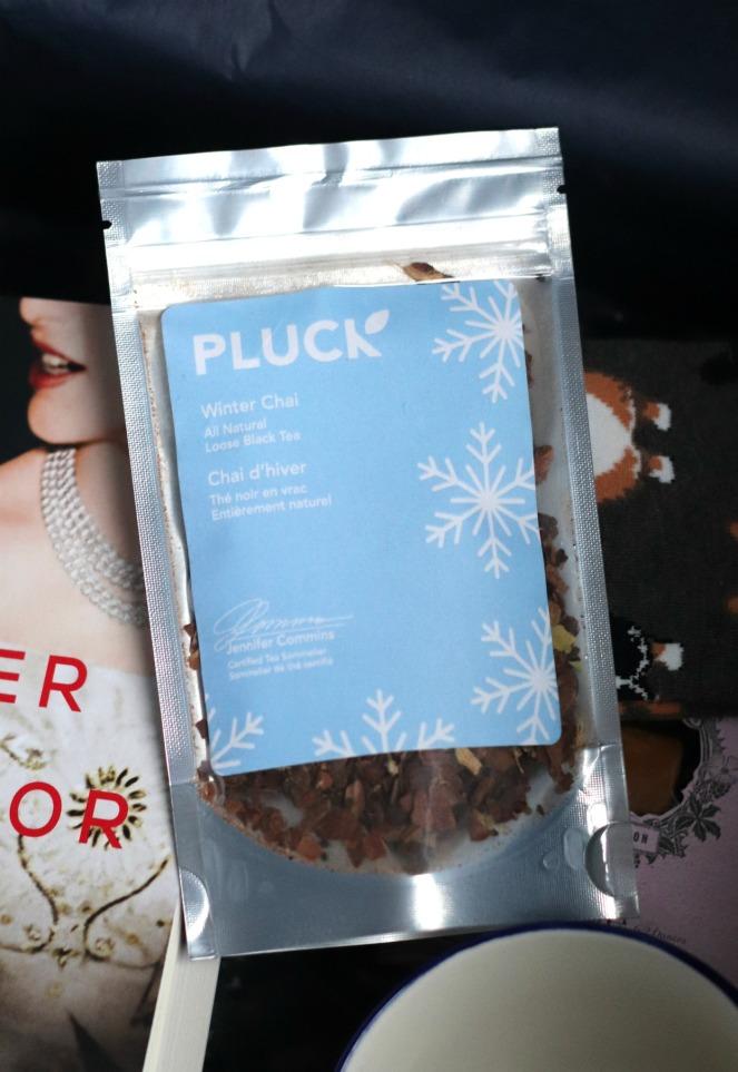 Sweet Reads Box January 2020 Pluck Winter Chai tea