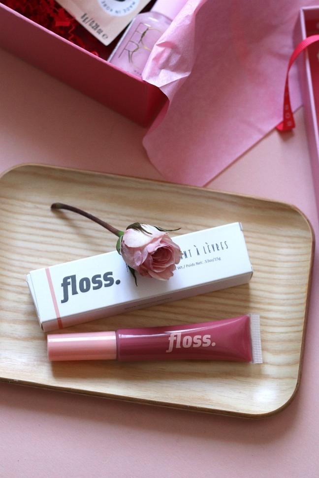 Glossybox Feb 2020 Floss lip gloss