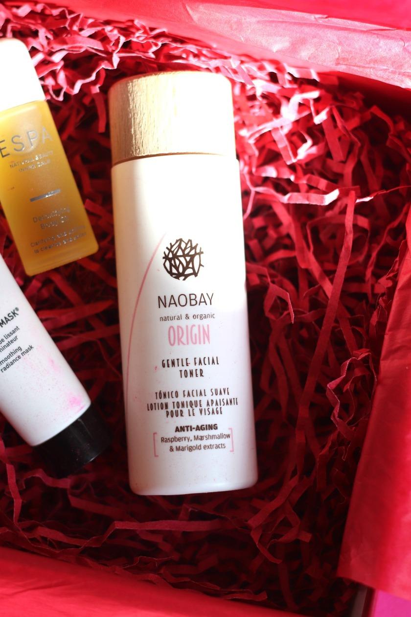 Lookfantastic Feb 2020 Naobay Origina Gentle Facial Toner
