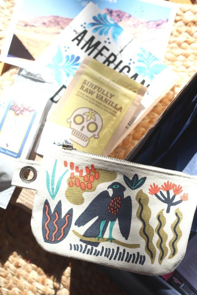 Sweet Reads Box Feb 2020 Danica pouch