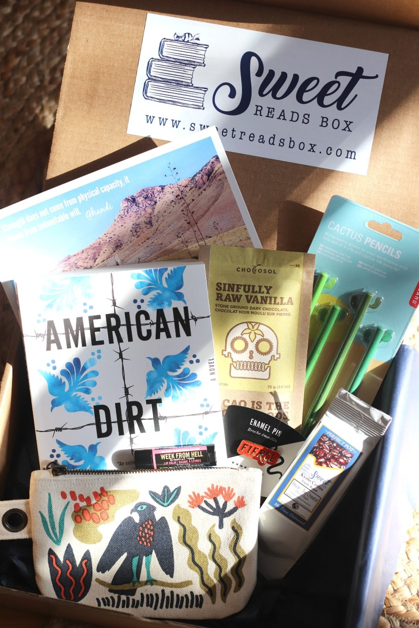 Sweet Reads Box Feb 2020 full contents