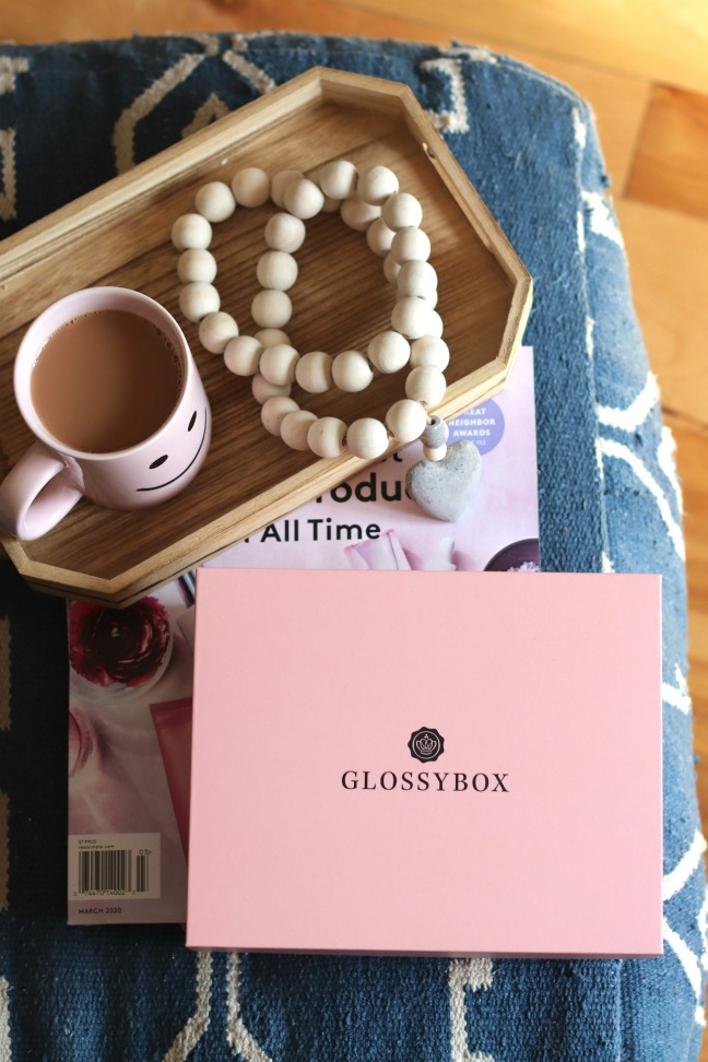 Glossybox March 2020 the box