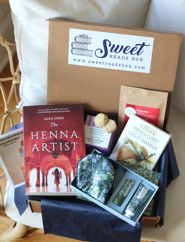 Sweet Reads Box March 2020 full contents 1