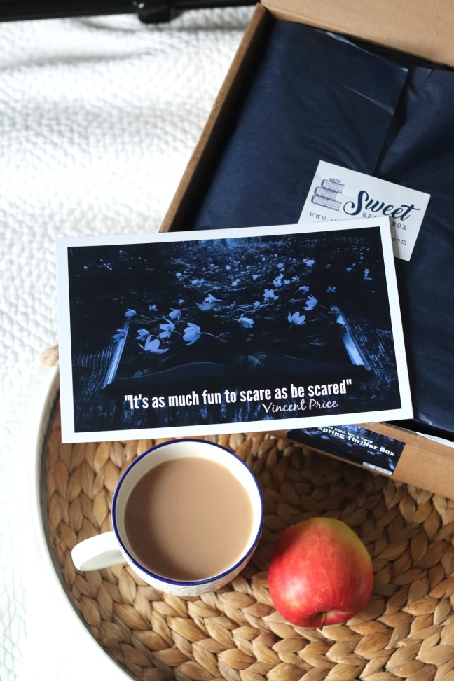 Sweet Reads Box Spring Thriller Box legend