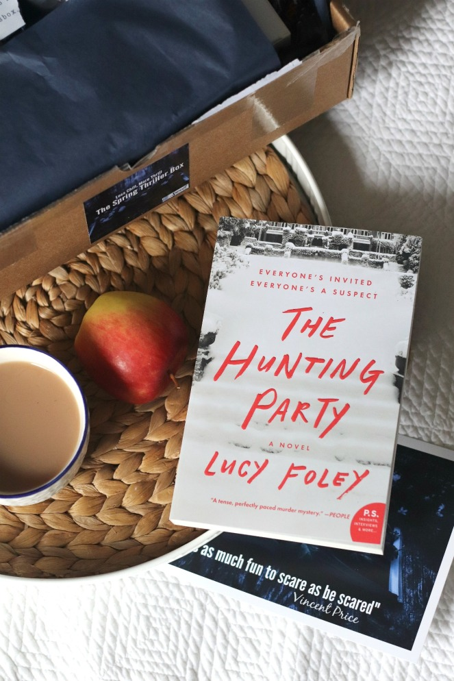 Sweet Reads Box Spring Thriller Box The Hunting Party