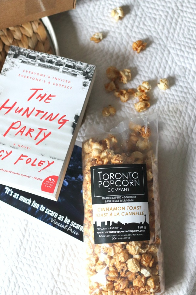 Sweet Reads Box Spring Thriller Box Toronto Popcorn Company Cinnamon Toast