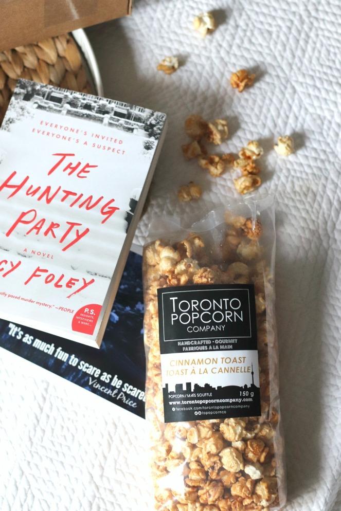 Sweet Reads Box Spring Thriller Box Toronto Popcorn Company Cinnamon Toast