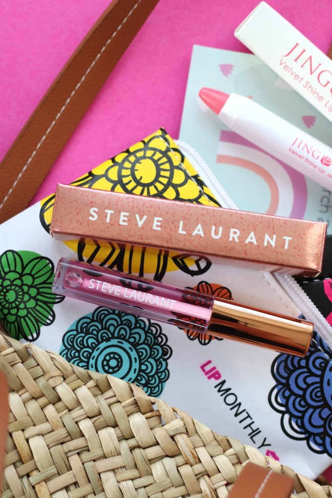 Lip Monthly March 2020 Steve Laurant Orchid Lip Oil