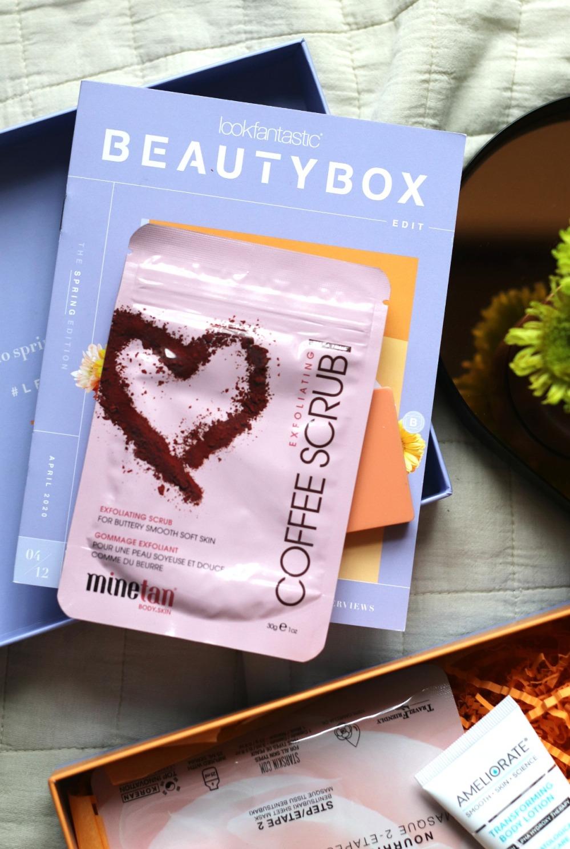 Lookfantastic April 2020 Minetan Coffee Scrub