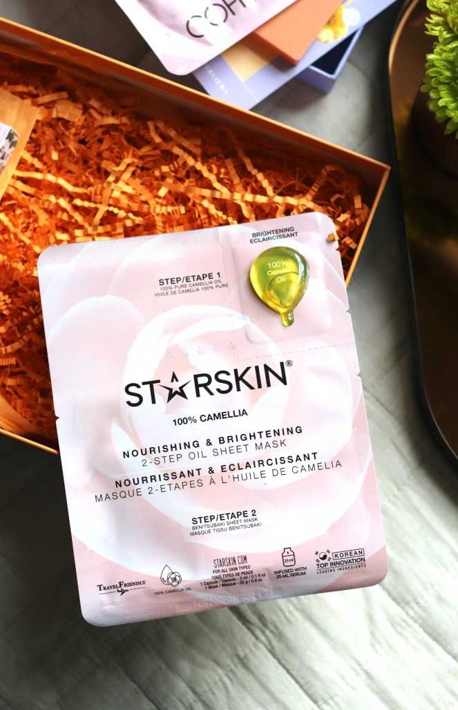 Lookfantastic April 2020 Starskin 100% Camellia Oil Sheet Mask