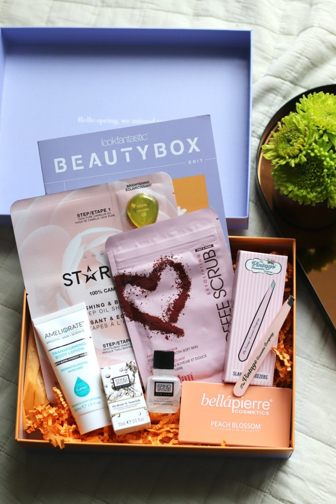 Lookfantastic beauty box April 2020 full contents