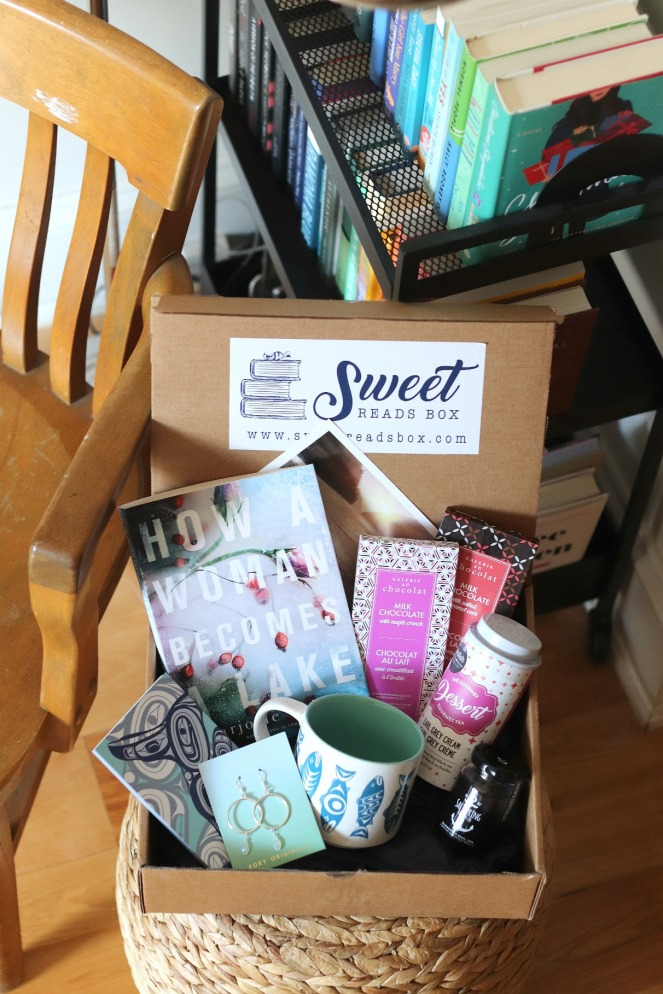 Sweet Reads Box April 2020 full contents