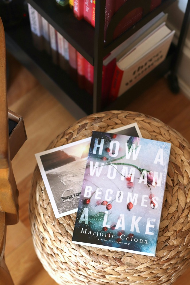 Sweet Reads Box April 2020 How a Woman Becomes a Lake by Marjorie Celona