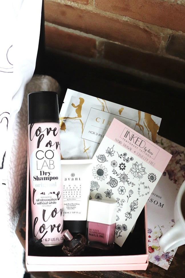 glossybox april 2020 contents try small things-2