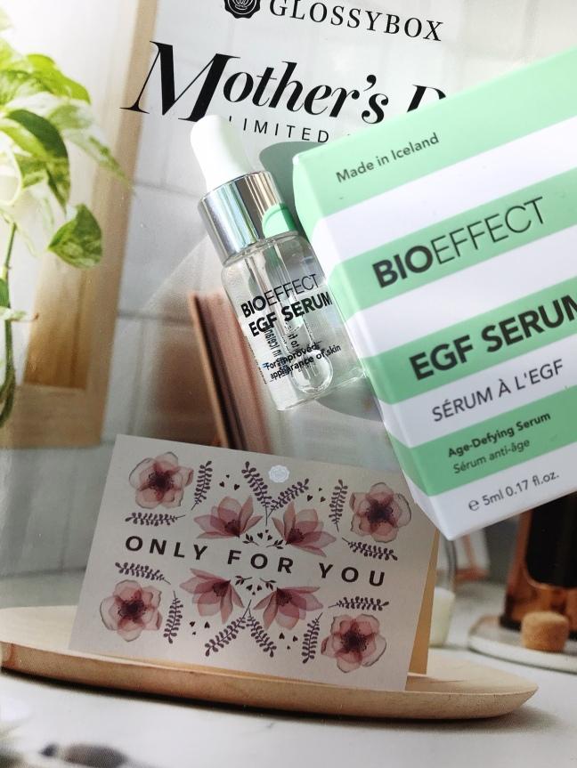 Glossybox May 2020 Mother's day Box Bioeffect EGF Serum bright