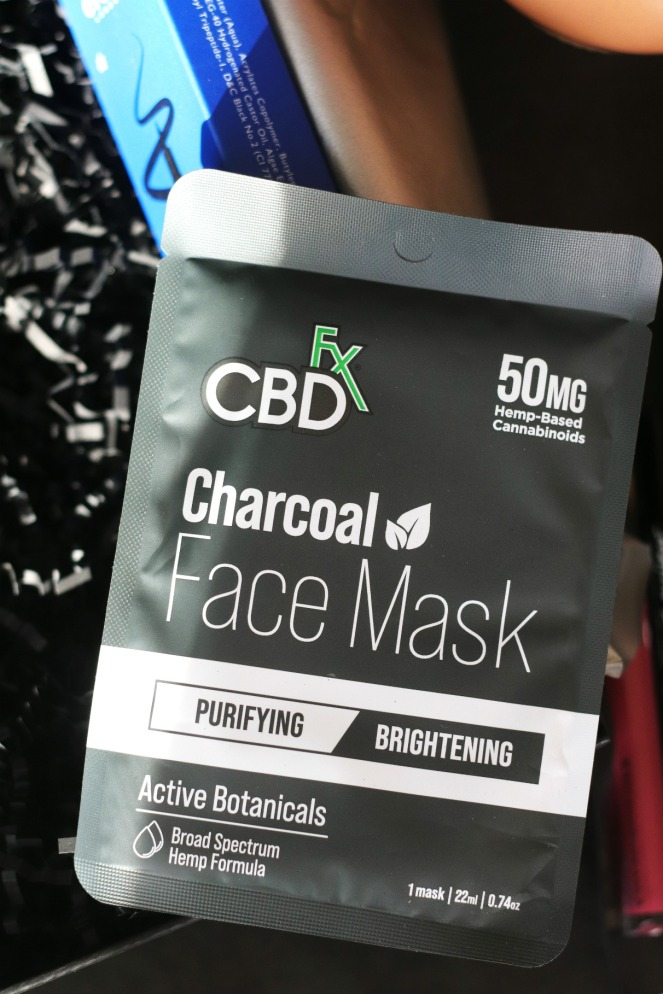 Glossybox May 2020 reg CBD Charcoal face mask