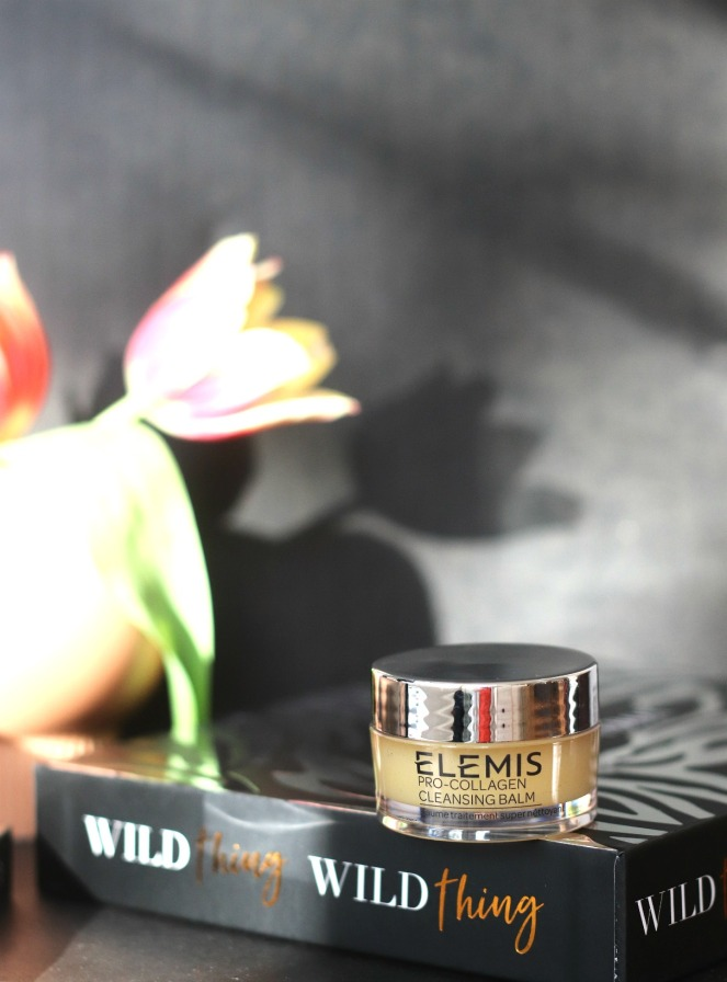 Glossybox May 2020 reg Elemis Pro-Collagen Cleansing Balm with flower