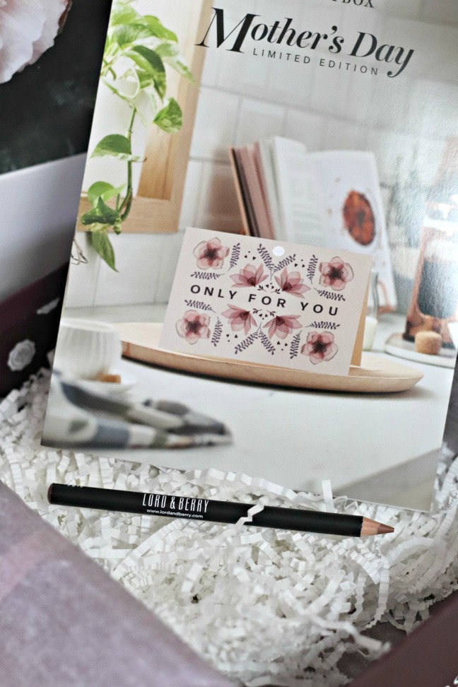 Glossybox Mother's Day 2020 Lord&Berry lip pencil