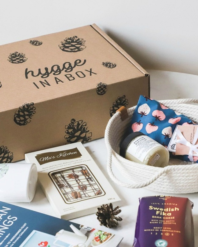 hygge in a box giveaway