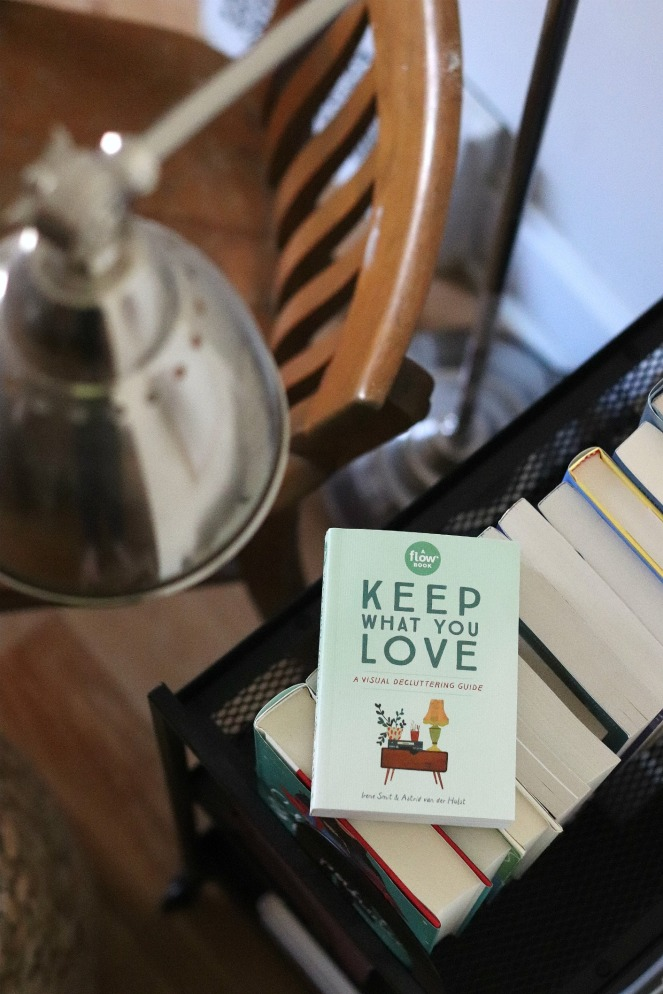 Keep What You Love on art cart