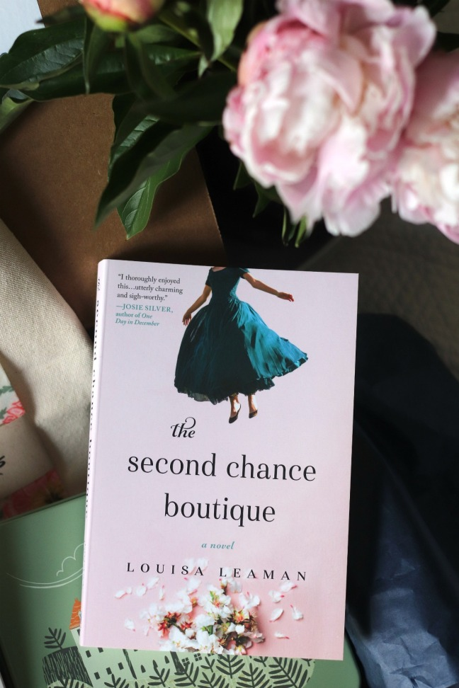 Sweet Reads Box May 2020 The Second Chance Boutique by Louisa Leaman
