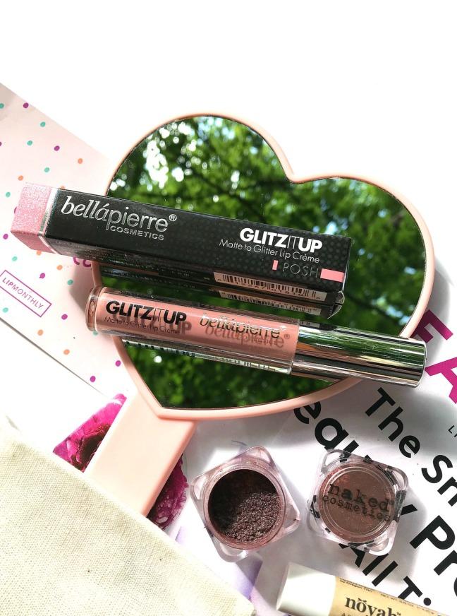 Lip Monthly April 2020 Bellapierre Glitz Up Matte to Glitter Lip Creme POSH