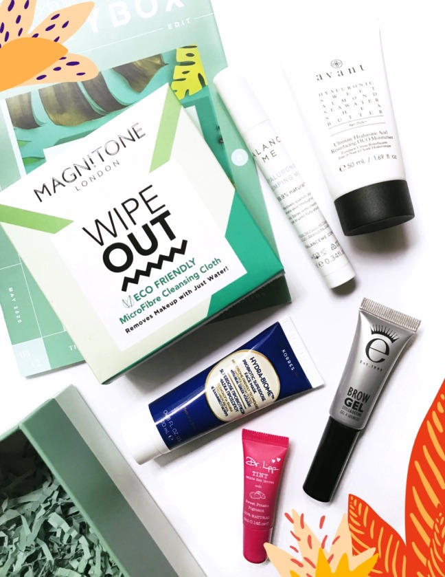 Lookfantastic Beauty Box May 2020 full contents tst final