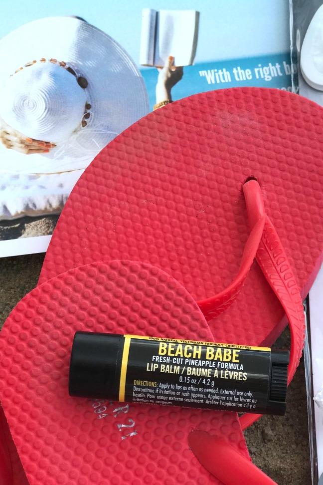 Sweet Reads Box Beach Read Box June 2020 Beach babe lip balm Walton Wood