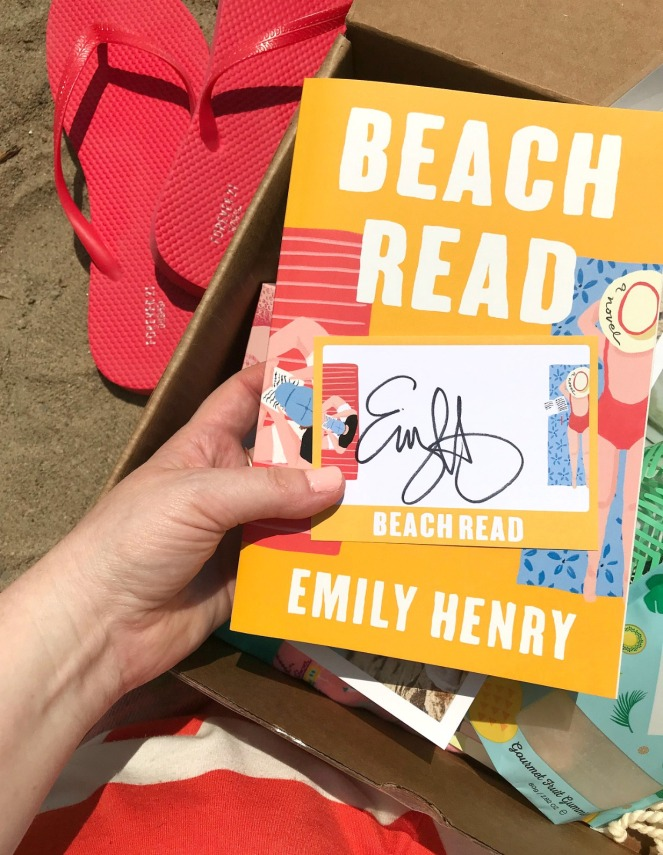Sweet Reads Box Beach Read Box June 2020 Beach Read Emily Henry signature