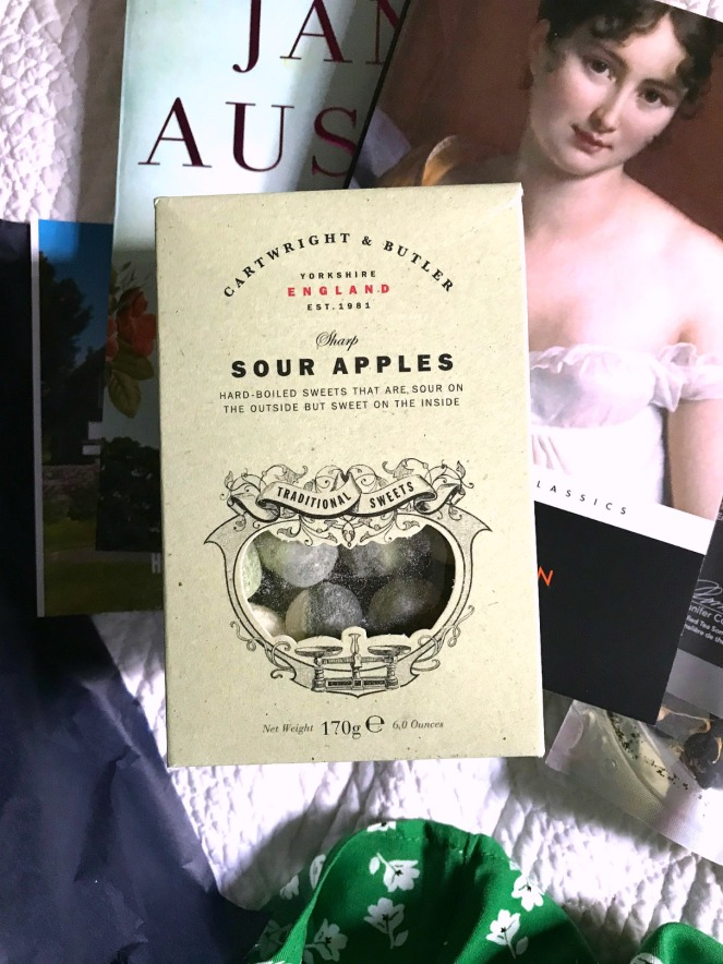 Sweet Reads Box June 2020 Cartwright and Butler Sharp Sour Apples