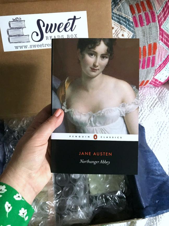 Sweet Reads Box June 2020 Northanger Abbey by Jane Austen