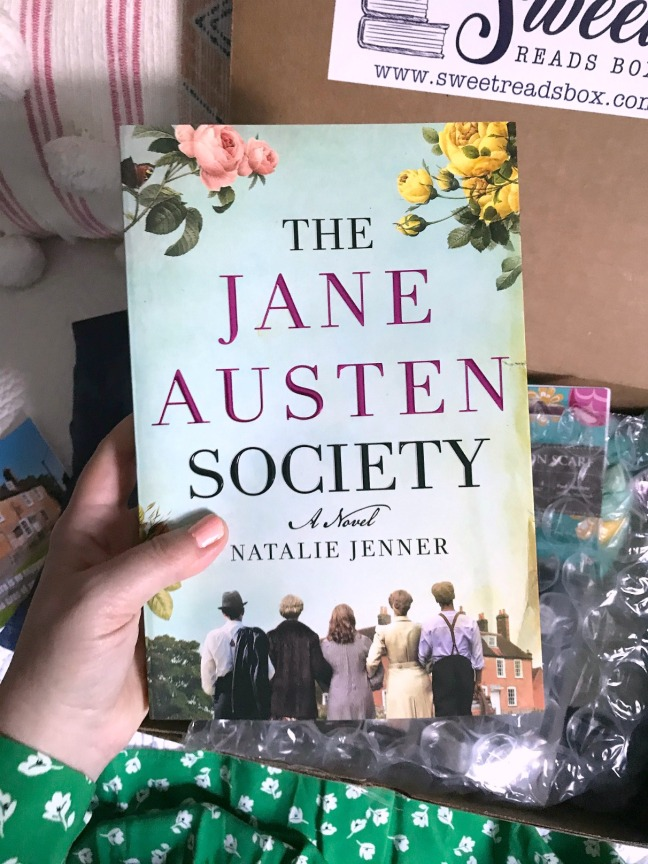 Sweet Reads Box June 2020 The Jane Austen Society with box