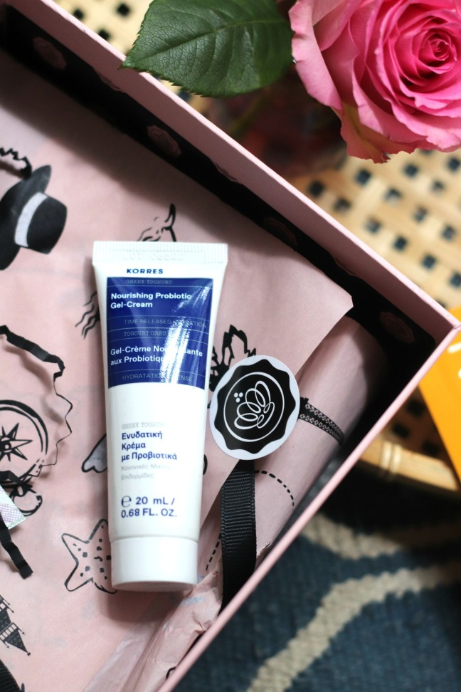 Glossybox June 2020 Korres Nourishing Probiotic Gel-Cream