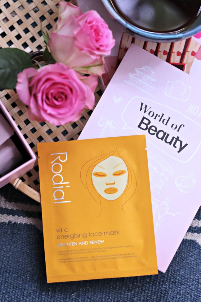 Glossybox June 2020 Rodial face mask
