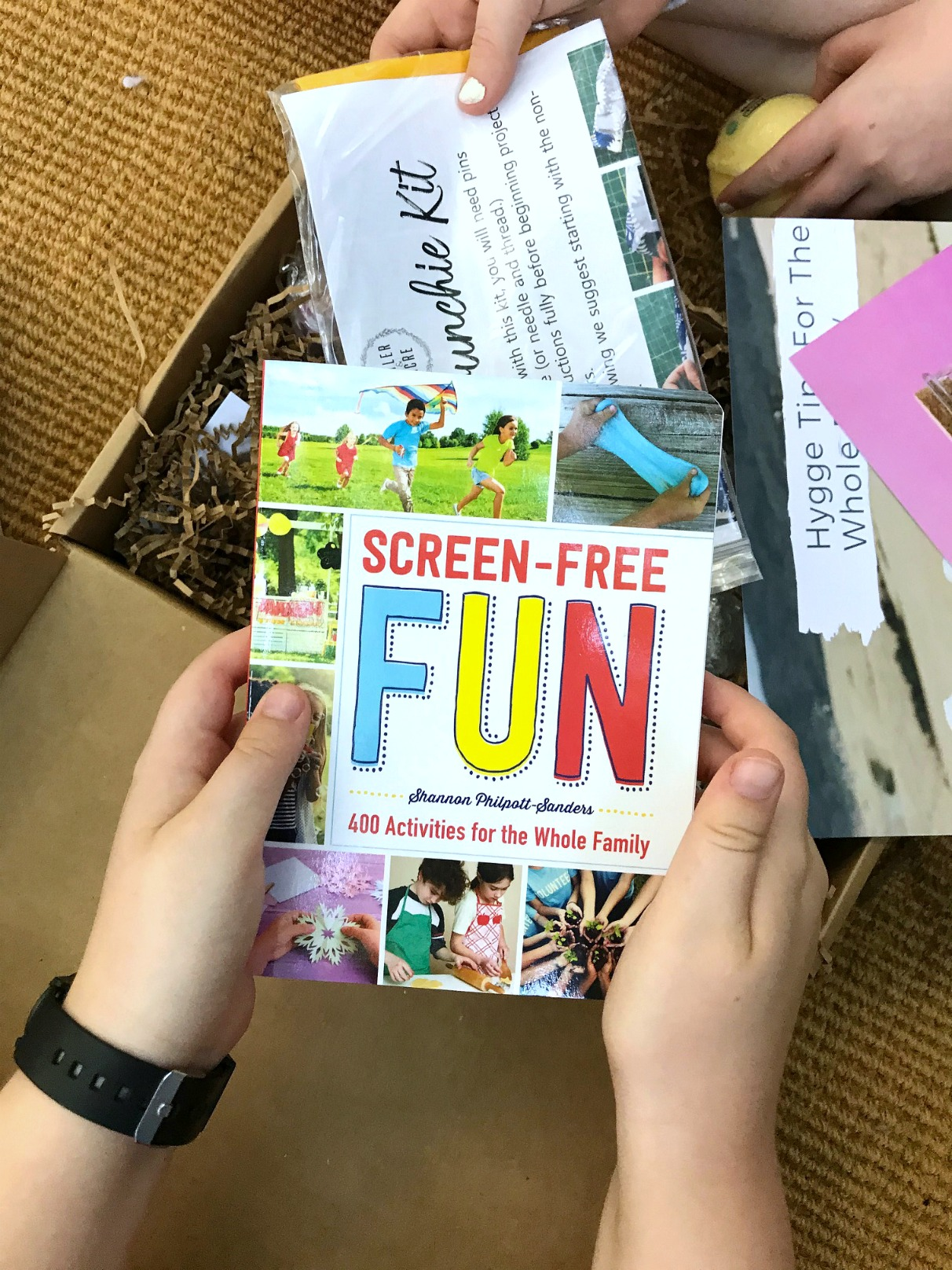 Kids Hygge Box Screen-Free Fun