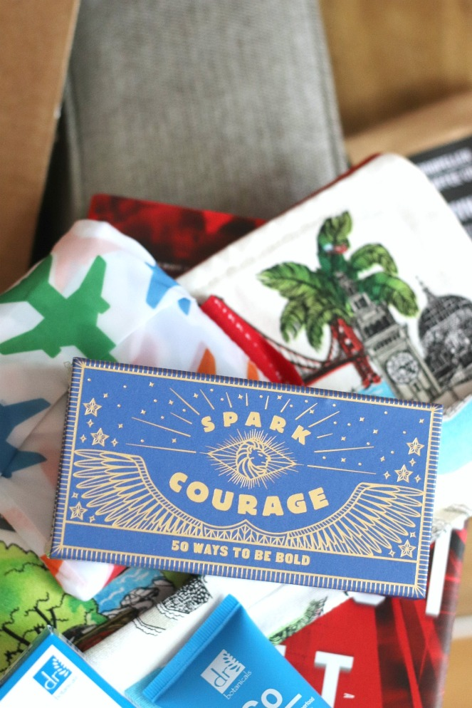 Sweet Reads Box July 2020 Spark Courage 50 Ways to Be Bold