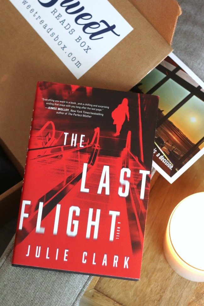 Sweet Reads Box July 2020 The Last Flight by Julie Clark