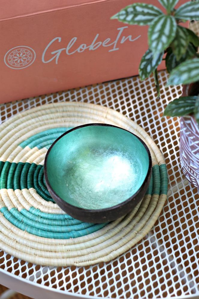 GlobeIn Boho Box Coconut Bowl
