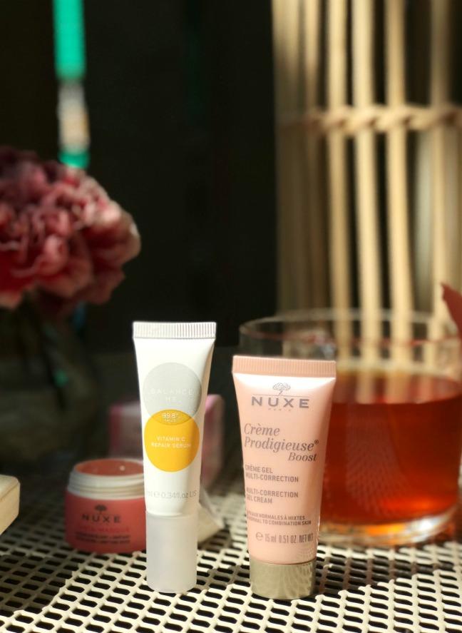 Lookfantastic July 2020 Nuxe Creme Prodigieuse Boost and Balance Me Vitamin C Repair Serum