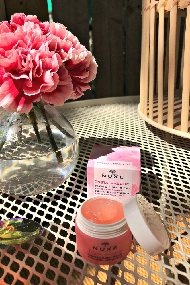 Lookfantastic July 2020 Nuxe Rose and Macadamia Exfoliating Mask
